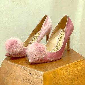 Pink pouffy Sam Edelman Stiletto Heals